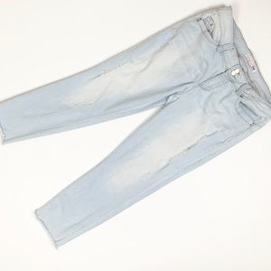 YMI High Rise Crop Skinny Jeans